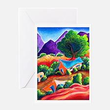 Three Adobes - Greeting Card