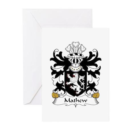 Mathew (of Llandaff, Glamorganshire) Greeting Card