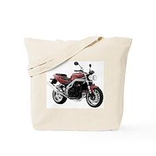 Triumph Speed Triple Red Tote Bag