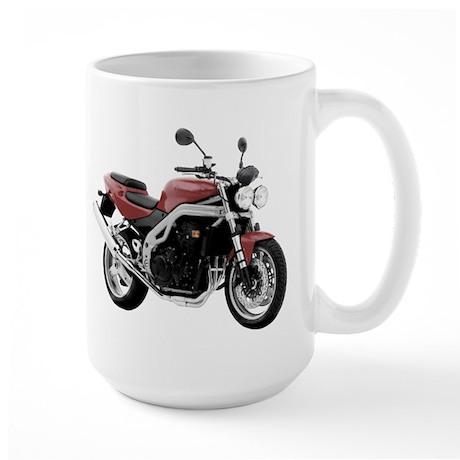 Triumph Speed Triple Red Large Mug
