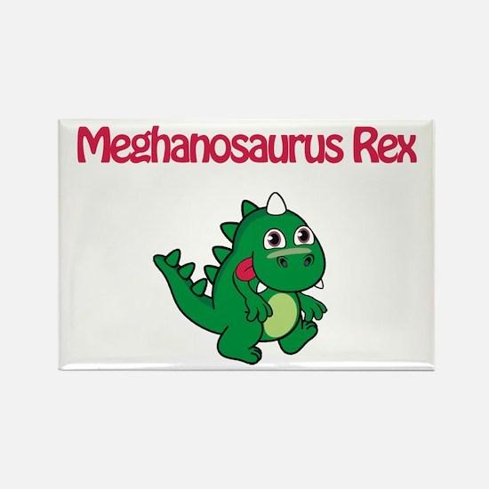Meghanosaurus Rex Rectangle Magnet