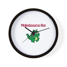 Melindaosaurus Rex Wall Clock