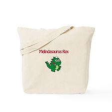 Melindaosaurus Rex Tote Bag