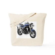 Triumph Speed Triple Blue #1 Tote Bag