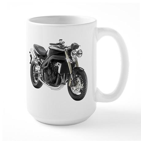 Triumph Speed Triple Black #2 Large Mug