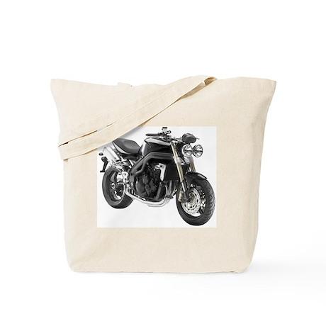 Triumph Speed Triple Black #2 Tote Bag