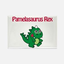 Pamelaosaurus Rex Rectangle Magnet
