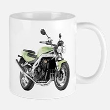 Triumph Speed Triple Light Green Mug