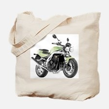 Triumph Speed Triple Light Green Tote Bag