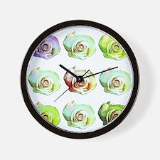 Cute New mom valentines Wall Clock