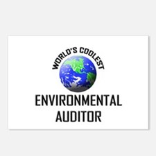 World's Coolest ENVIRONMENTAL AUDITOR Postcards (P