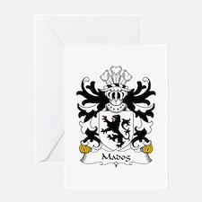 Madog (AP MAREDUDD, Prince of Powys) Greeting Card