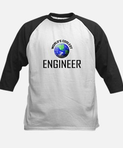 World's Coolest ENGINEER Kids Baseball Jersey