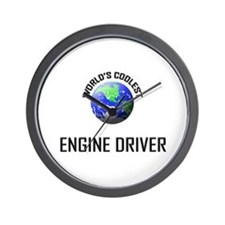 World's Coolest ENGINE DRIVER Wall Clock
