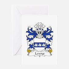 Lewys (AP RHYS AP HYWEL AP GRUFFUDD) Greeting Card