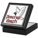 Peace on Earth Keepsake Box