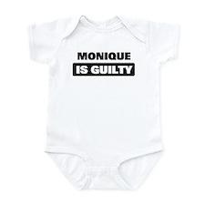 MONIQUE is guilty Infant Bodysuit