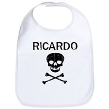 RICARDO (skull-pirate) Bib
