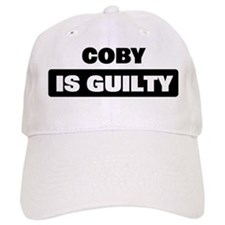 COBY is guilty Baseball Cap