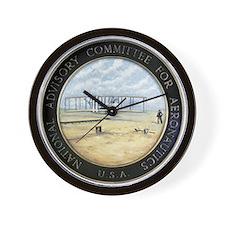 Vintage NACA Seal pre NASA Wall Clock
