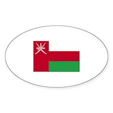 Oman Oval Decal