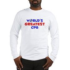 World's Greatest CPA (A) Long Sleeve T-Shirt
