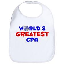 World's Greatest CPA (A) Bib
