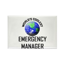 World's Coolest EMERGENCY MANAGER Rectangle Magnet