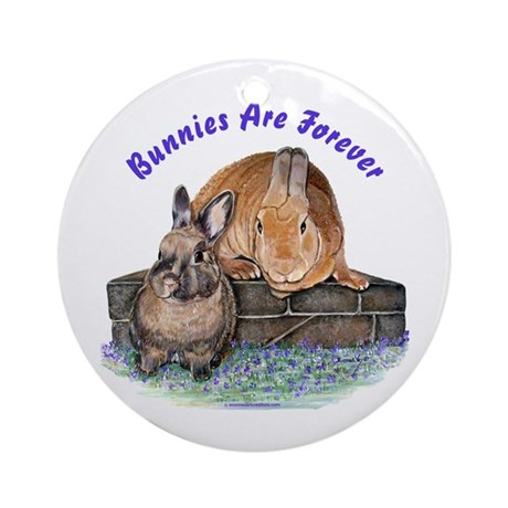 Bunny Friends Ornament (Round)