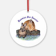 Bunny Friends Ornament (Round)