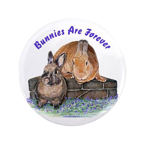 "Bunny Friends 3.5"" Button"