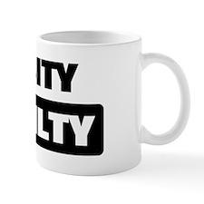 CHASITY is guilty Mug