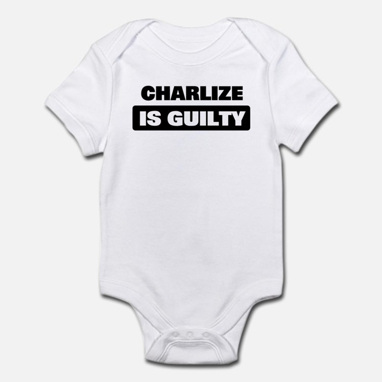 CHARLIZE is guilty Onesie
