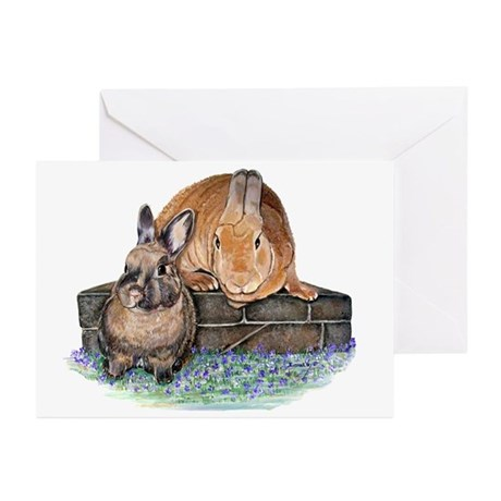 Bunny Friends Greeting Cards (Pk of 20)