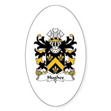 Hughes (of Breconshire) Oval Decal