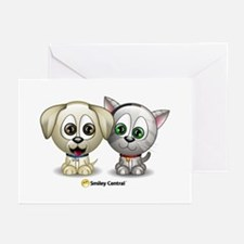 Puppy and Kitty Greeting Cards (Pk of 10)