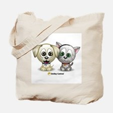 Puppy and Kitty Tote Bag