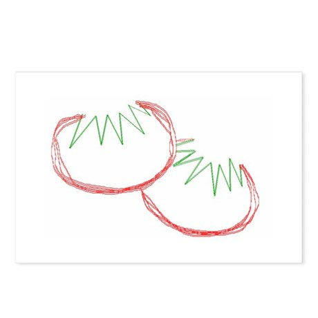 Tomatoes Postcards (Package of 8)