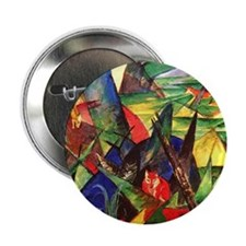 """Foxes by Franz Marc 2.25"""" Button"""