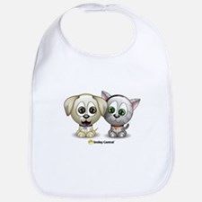 Puppy and Kitty Bib