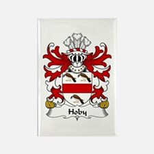 Hoby (of Radnor, Powys) Rectangle Magnet