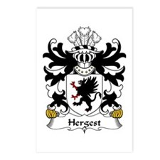 Hergest (Hargest, lord of Coston, Hereford) Postca