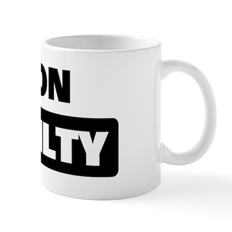 BYRON is guilty Mug