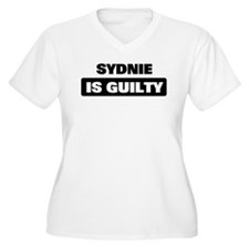 SYDNIE is guilty T-Shirt