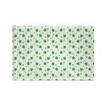 St Patrick's Shamrock Pattern Rectangle Magnet (10