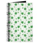 St Patrick's Shamrock Pattern Journal