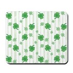 St Patrick's Shamrock Pattern Mousepad
