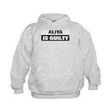 ALIYA is guilty Hoodie
