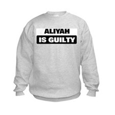 ALIYAH is guilty Jumpers