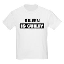 AILEEN is guilty T-Shirt